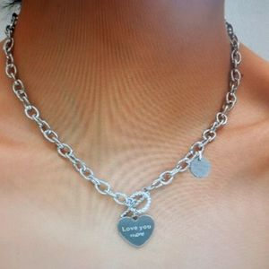 New! Heart Charm Necklace